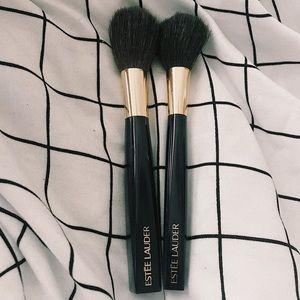 Two Estèe Lauder Face Brushes